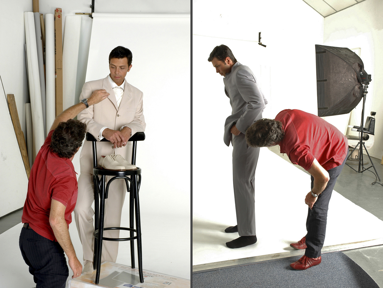 SADEV, mode homme, Nantes - Making-of studio - Pascal GUIRAUD